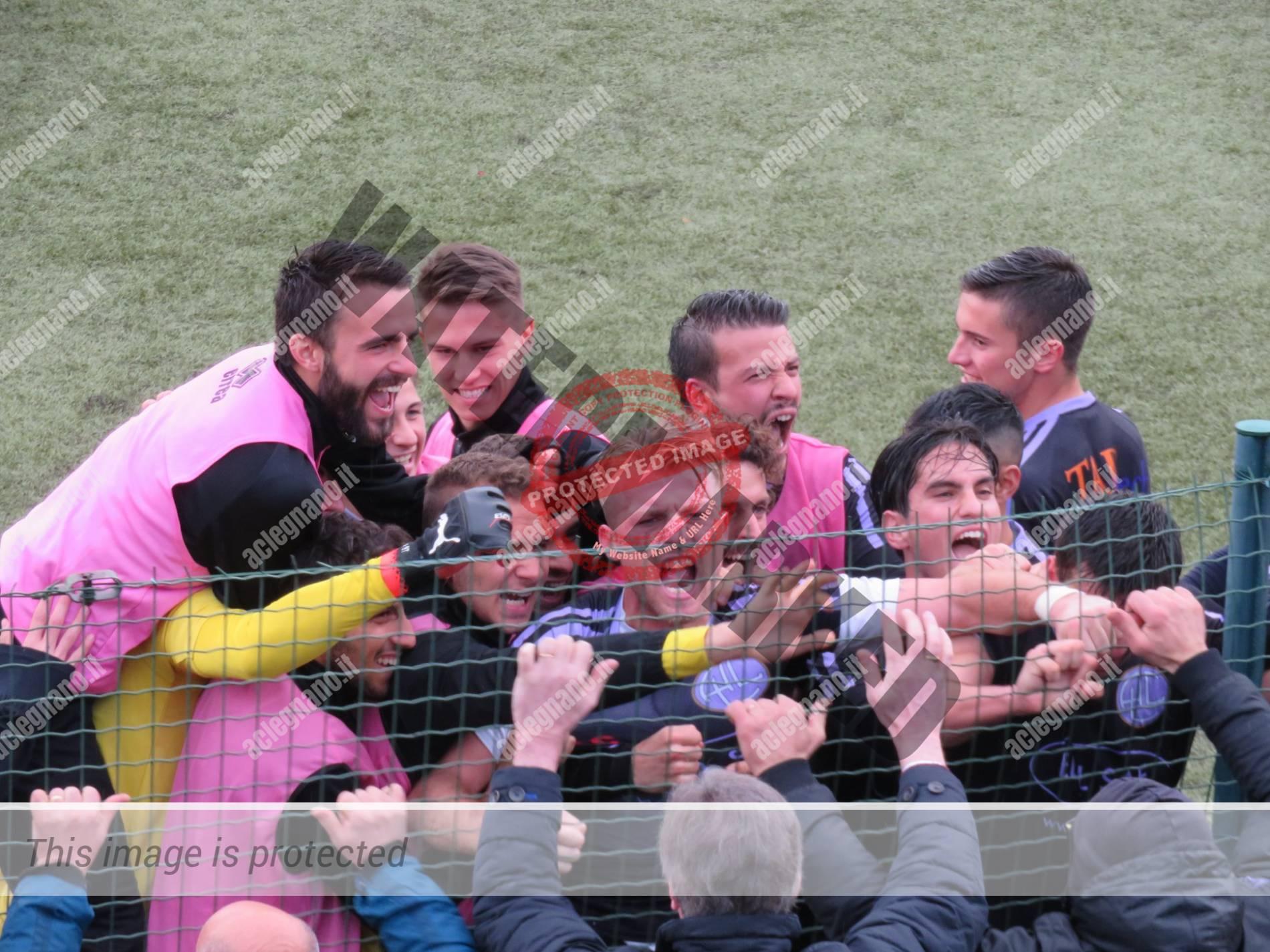 Robocop Bianchi, gol vincente all'ultimo respiro