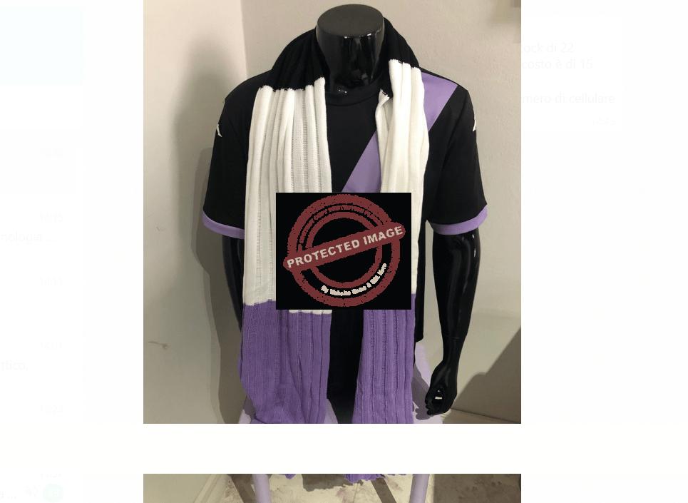 Nuove sciarpe per i tifosi lilla