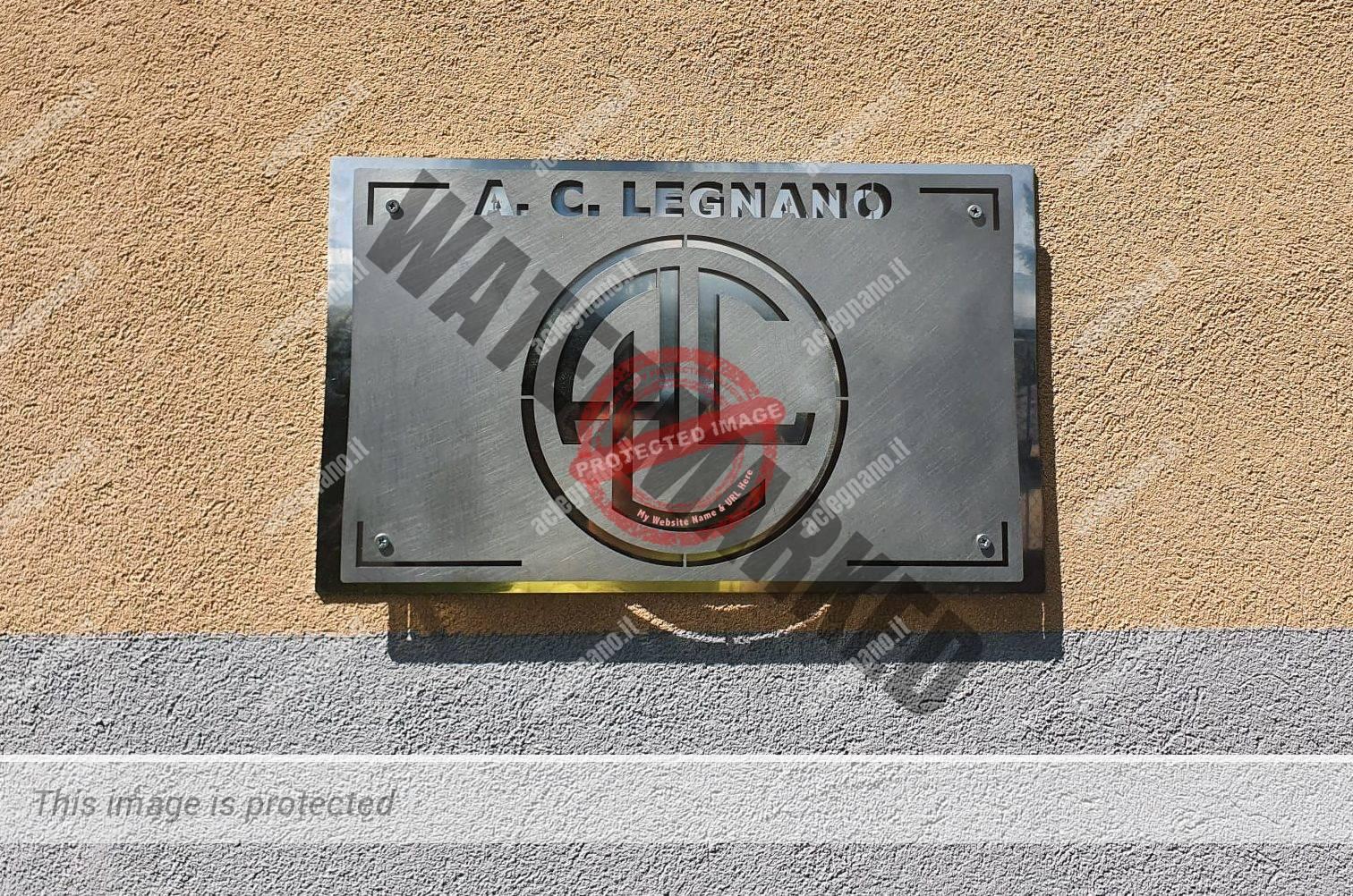 Una nuova targa per l'AC Legnano